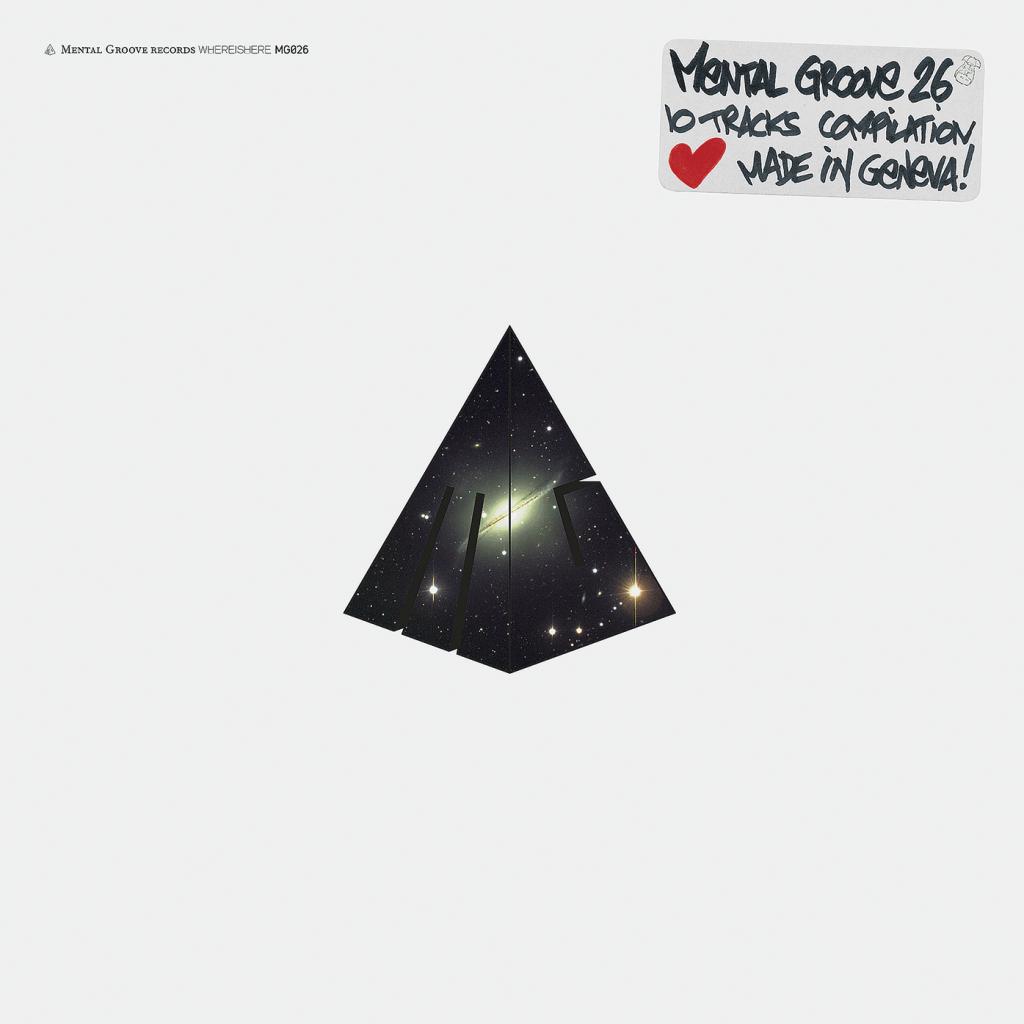 Pochette d'une compilation du label Mental Groove. Vinyl et CD. Dans le cadre de Schönwehrs.