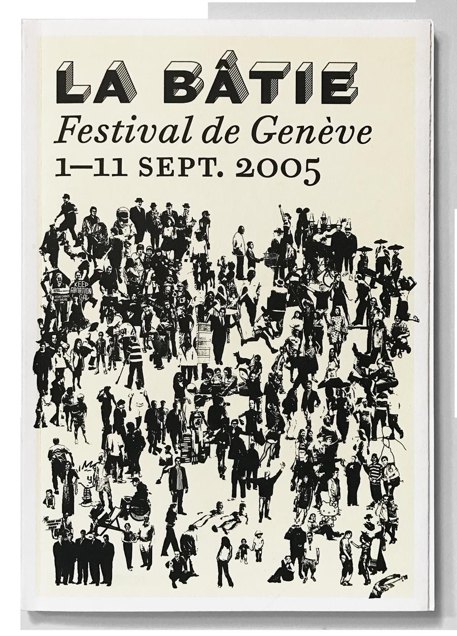 Programme du Festival de la Bâtie, Genève. En tant que Schönwehrs.