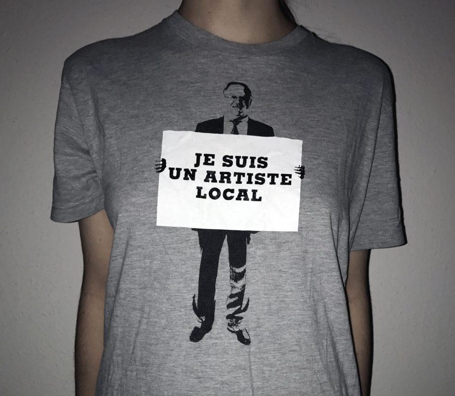 L'un des t-shirts réalisés pour l'édition 2006 du Festival de la Bâtie. En tant que Schönherwehrs.