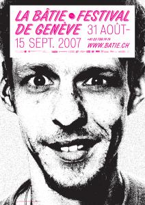 L'une des affiches du Festival. Photographie: Diego Sanchez. En tant que Schönherwehrs.