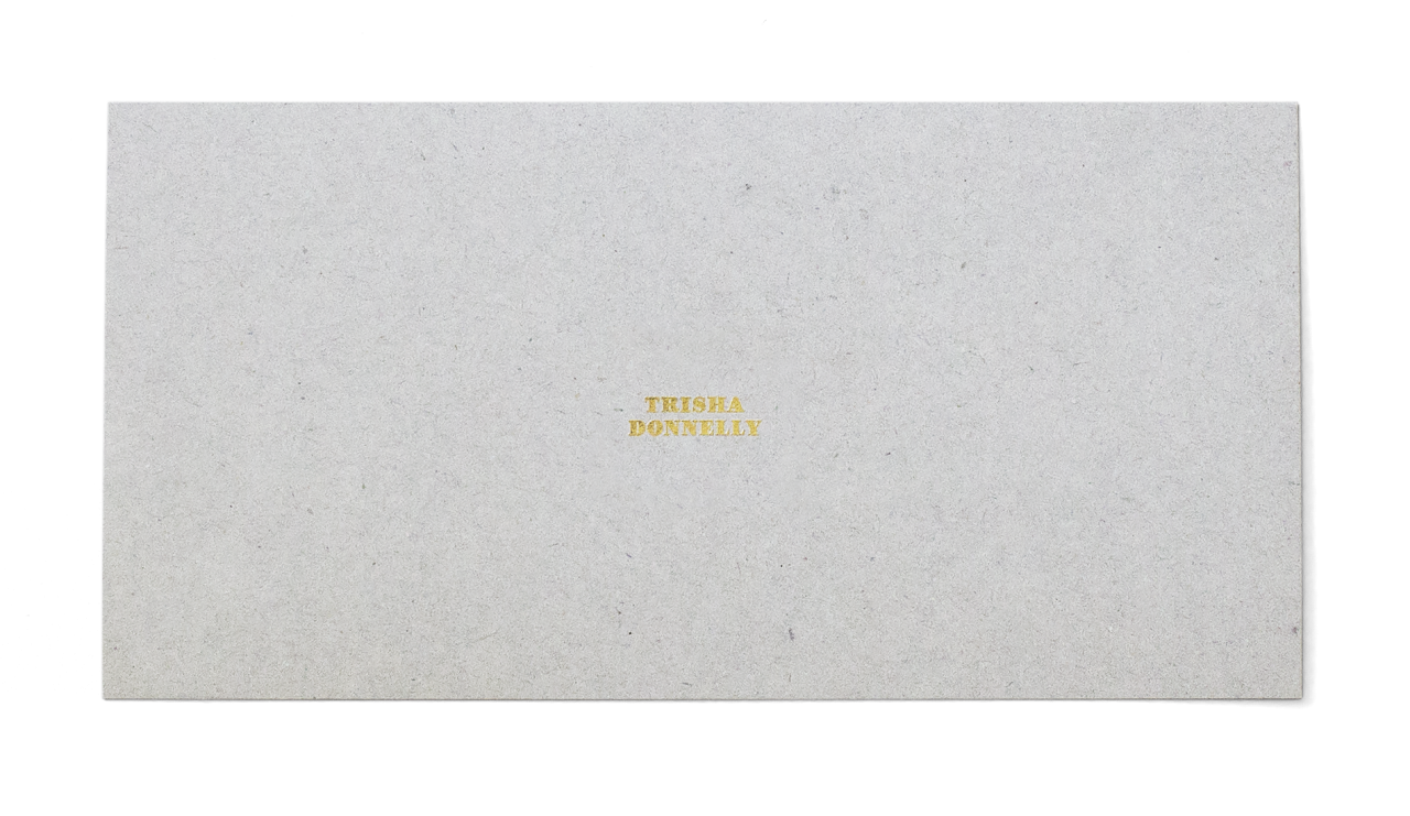 Premier carton d'invitation pour le Centre d'édition contemporaine Genève avec la ligne graphique basée sur la mise en page du catalogue l'«Effet papillon». En tant que Schönherwehrs.