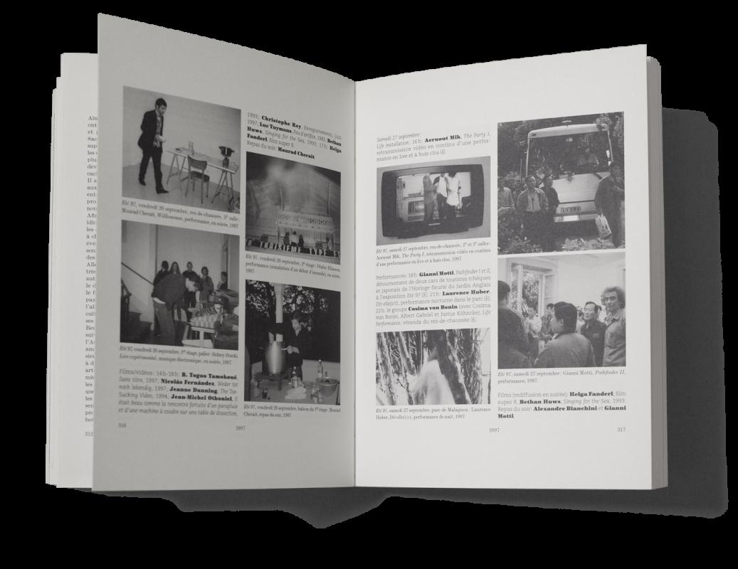 Catalogue retraçant l'activité du Centre d'édition contemporaine, Genève. En tant que Schönherwehrs.