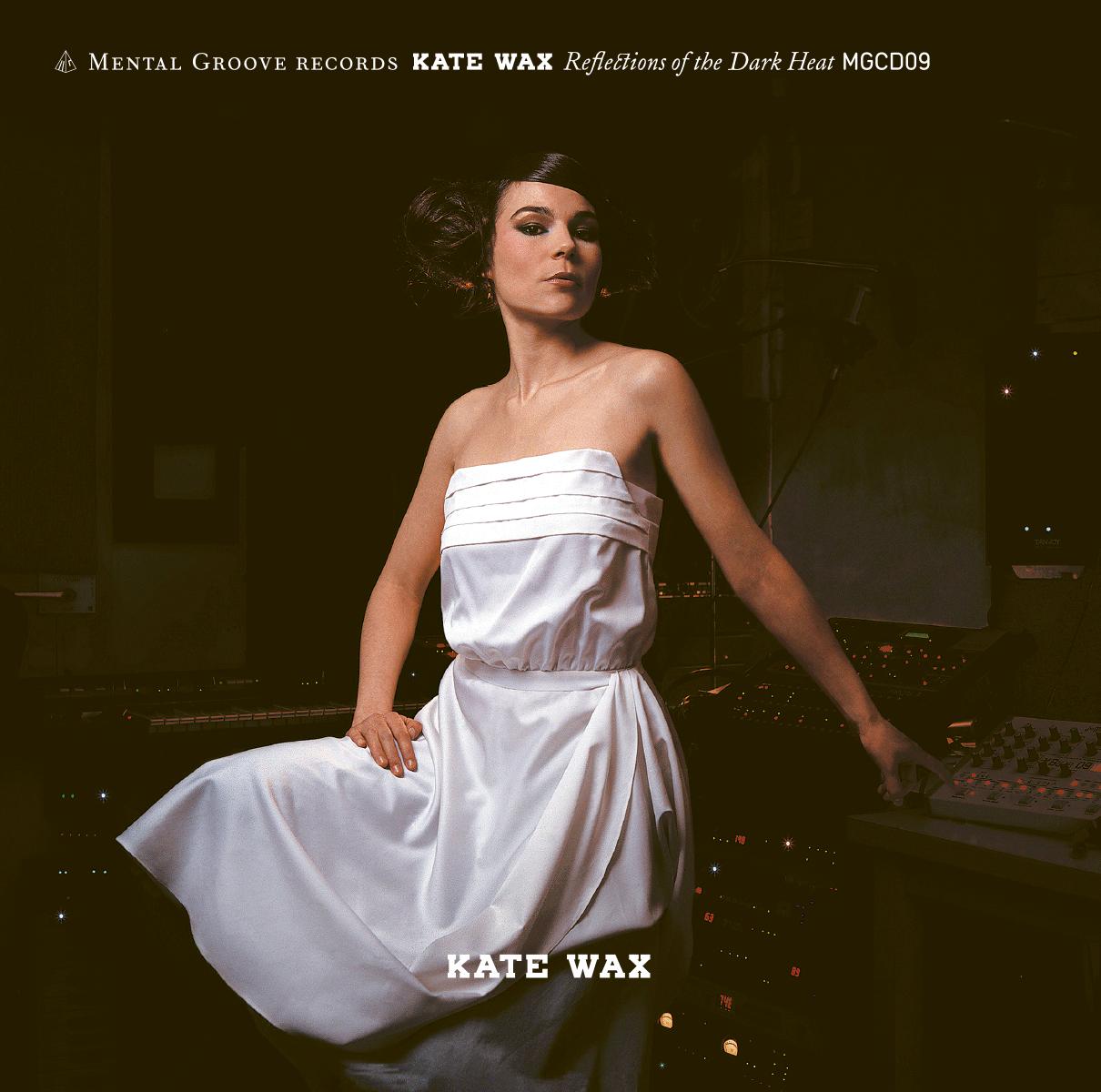 Pochette du premier album de Kate Wax. Photographie: Jorge Perez. Dans le cadre de Schönwehrs