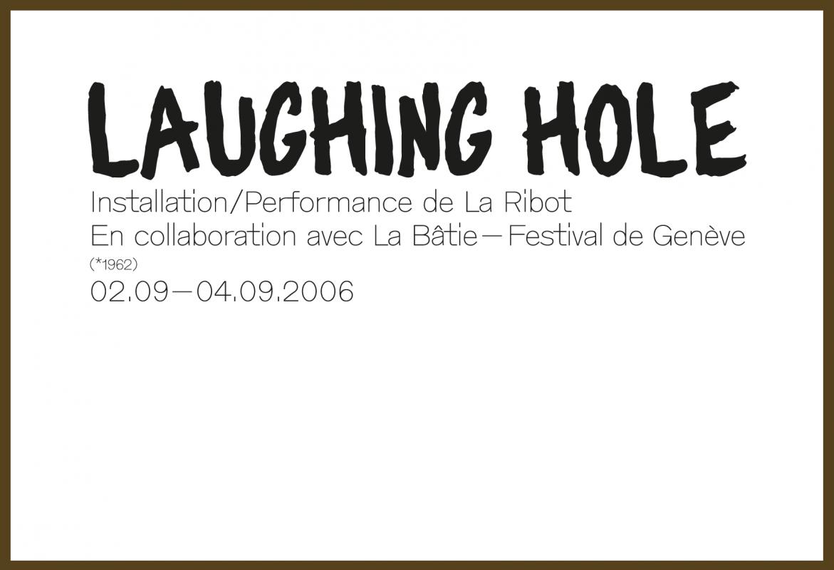 Carton d'invitation de l'exposition de La Ribot (recto). En tant que Schönherwehrs.