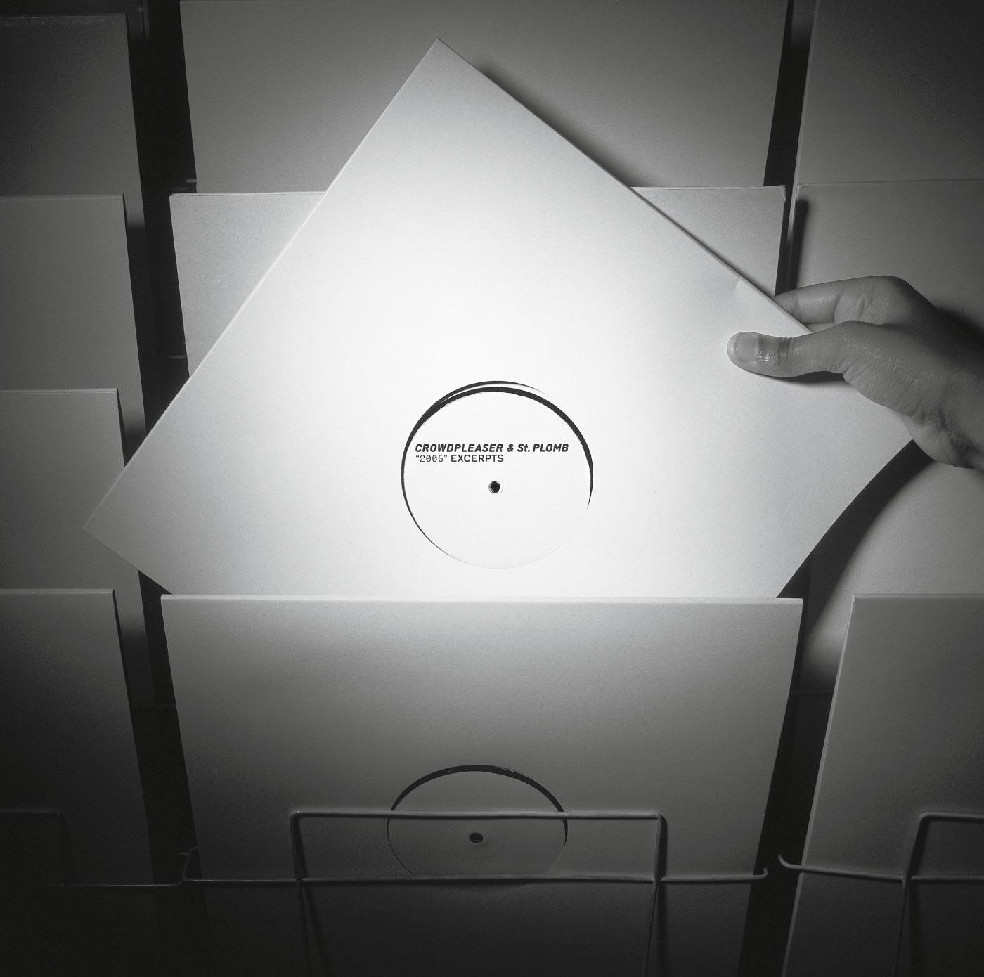 Pochette de l'album, Mental Groove records. La couverture du CD était une photo similaire avec un CD. En tant que Schönherwehrs.