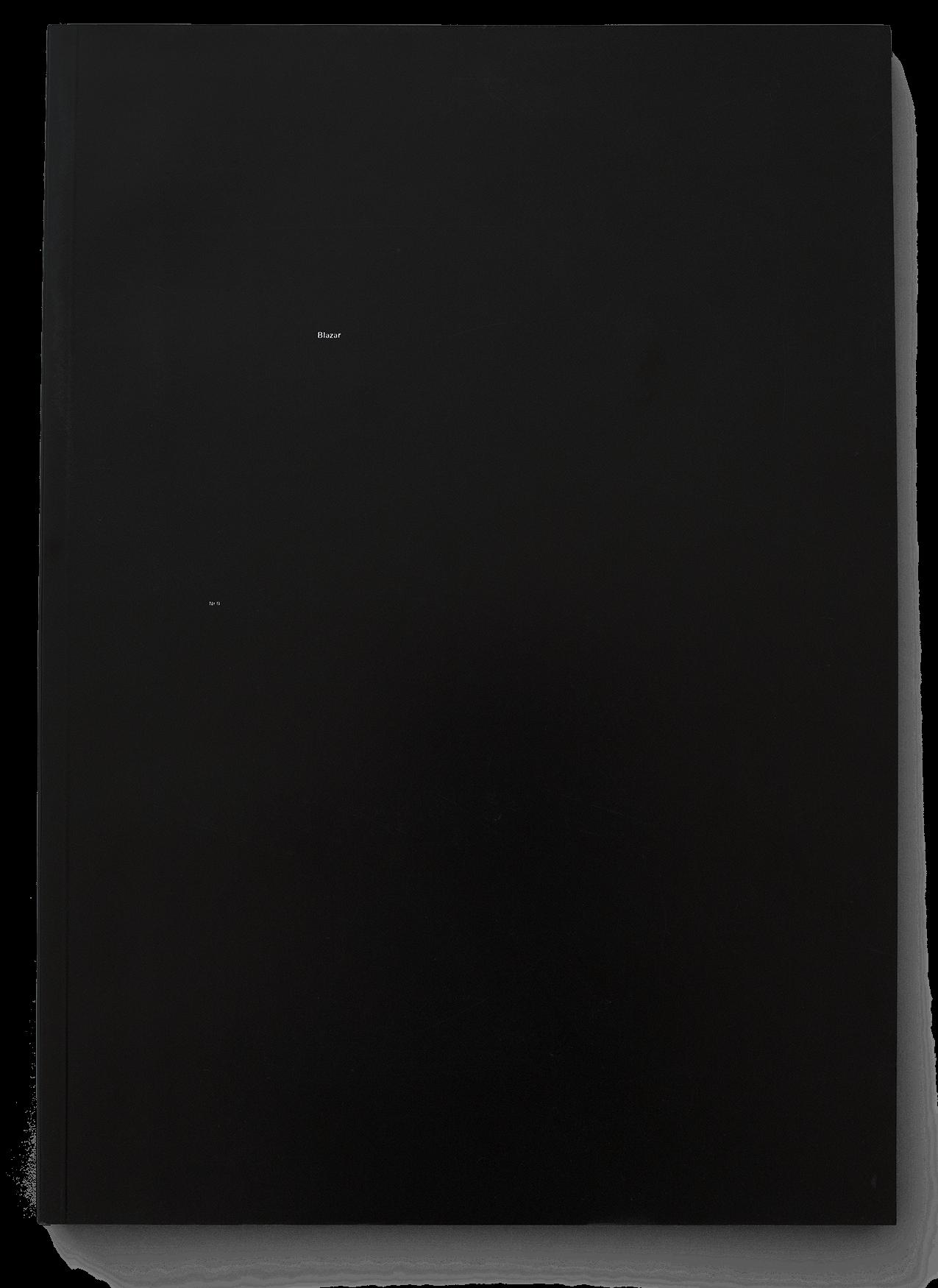 Livre/magazine de diplôme de l'ÉCAL de la photographe Anna Krieps