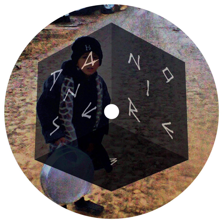 Label du EP de El Mahdy Jr. sur Danse Noire.