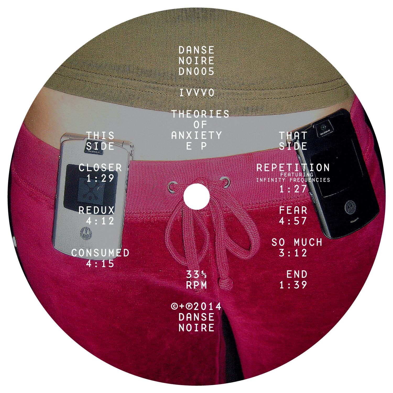 Label du EP de IVVVO sur Danse Noire
