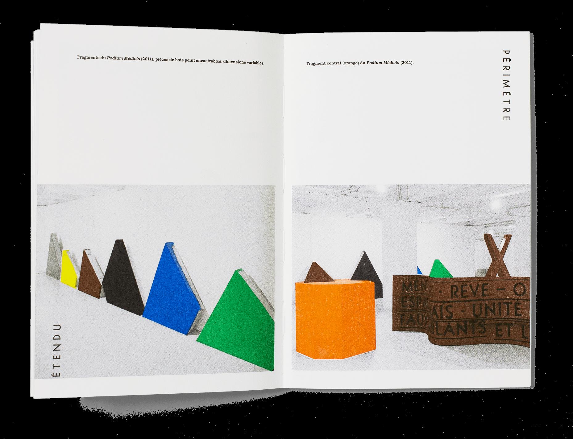 Catalogue du cycle d'événements «Périmètre étendu» organisé par les étudiant·e·s du Master «Métiers et arts de l'exposition » de l'Université de Rennes dans le cadre du cours donné par Delphine Coindet.