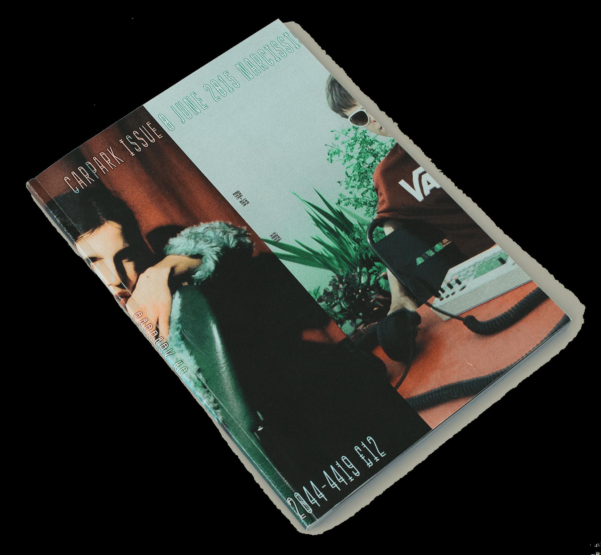 Couverture de Carpark magazine numéro 8