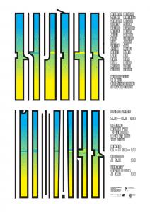 Affiche de l'exposition Espèces d'Images (A3)