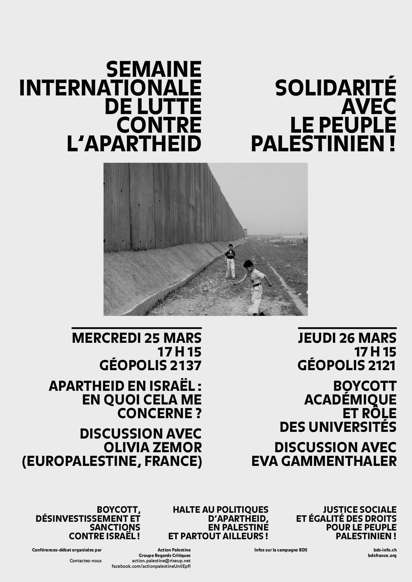 Affiche solidarité Palestine-BDS