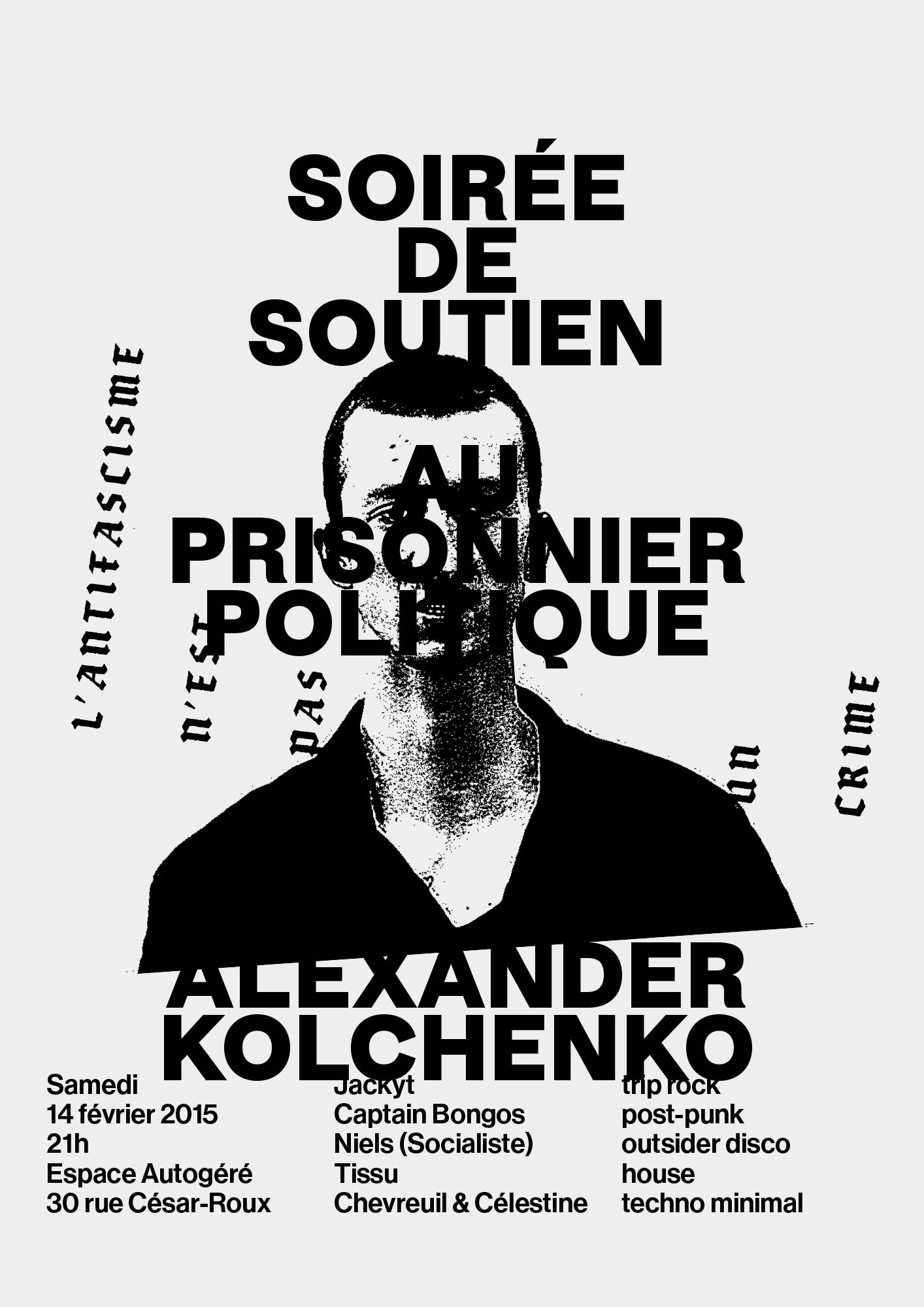 Affiche soutien Kolchenko