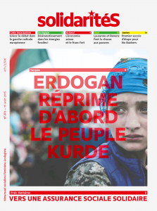 Couverture du numéro 272 du bimensuel solidaritéS