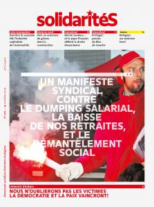 Couverture du numéro 276 du bimensuel solidaritéS