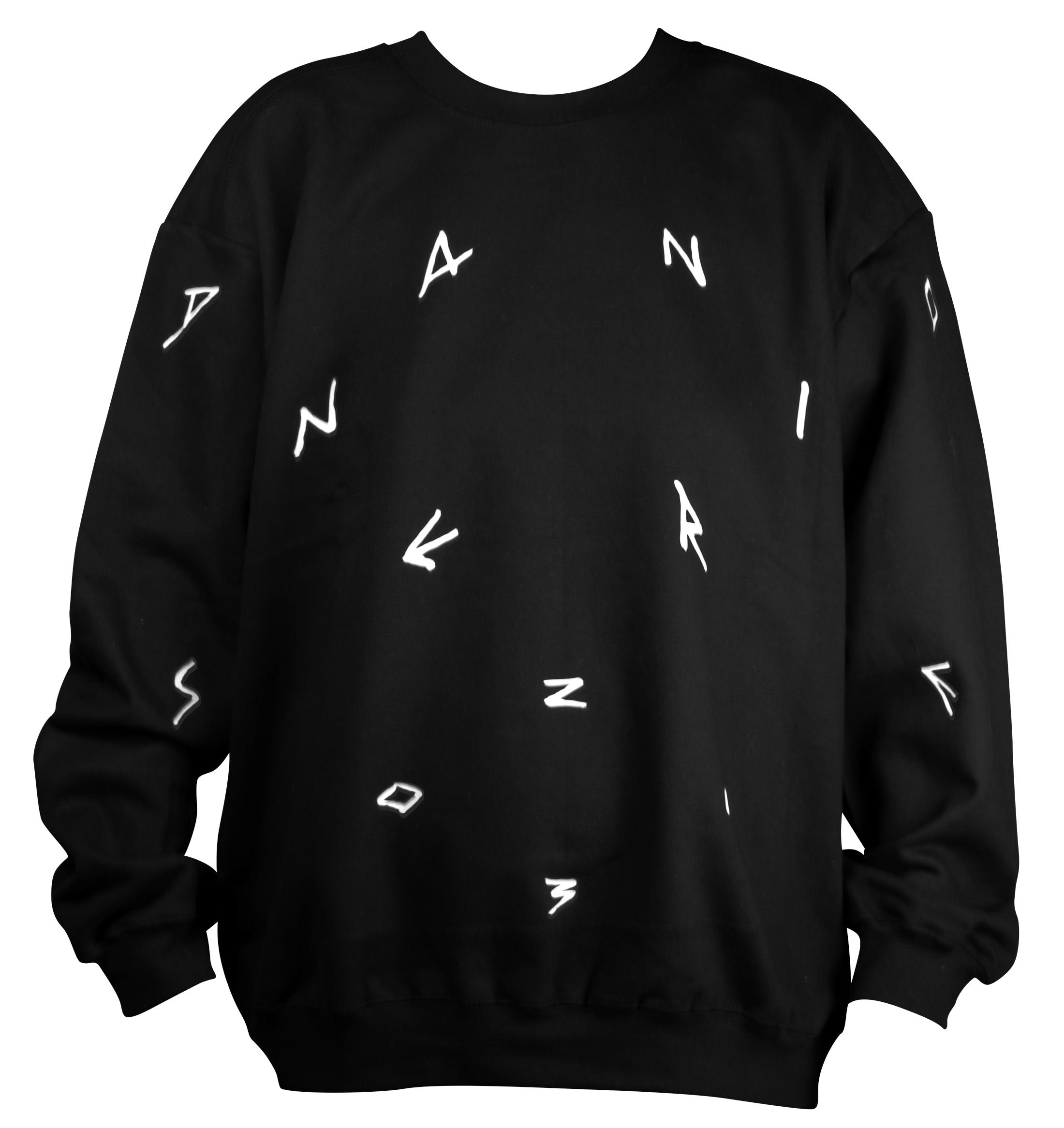 Pull pour le label Danse Noire (noir)