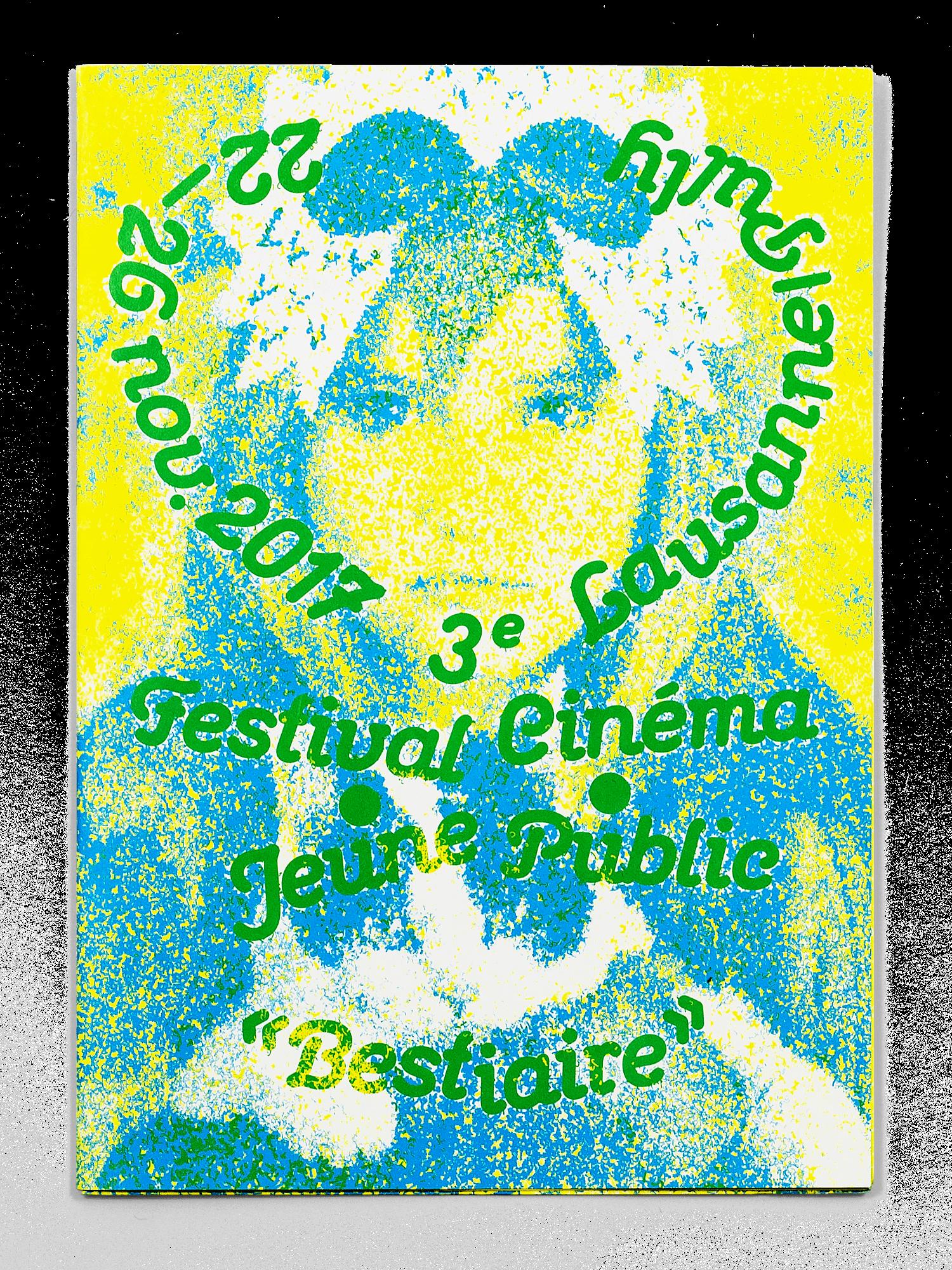 Couverture du programme du Festival Cinéma Jeune Public 2017