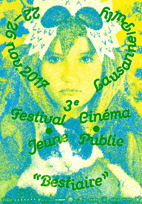 Affiche du Festival Cinéma Jeune Public 2017