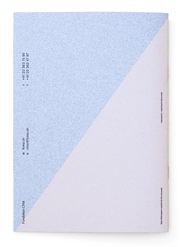 Dos de la brochure du catalogue des formations de la FCMA