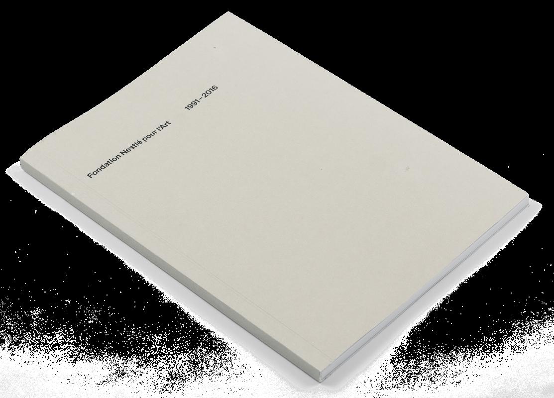 Coffret Fondation Nestlé pour l'art: Couverture du livre d'introduction