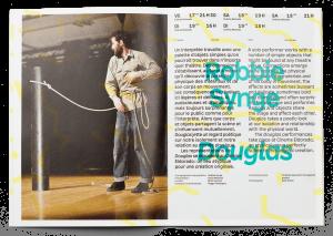 Double-page du programme des Printemps de Sévelin 36 2017