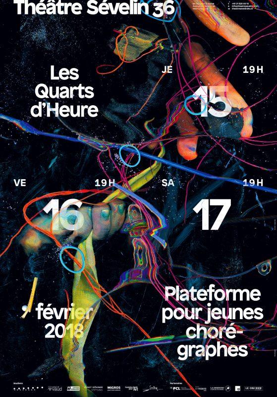 Affiche des Quarts d'Heure 2018