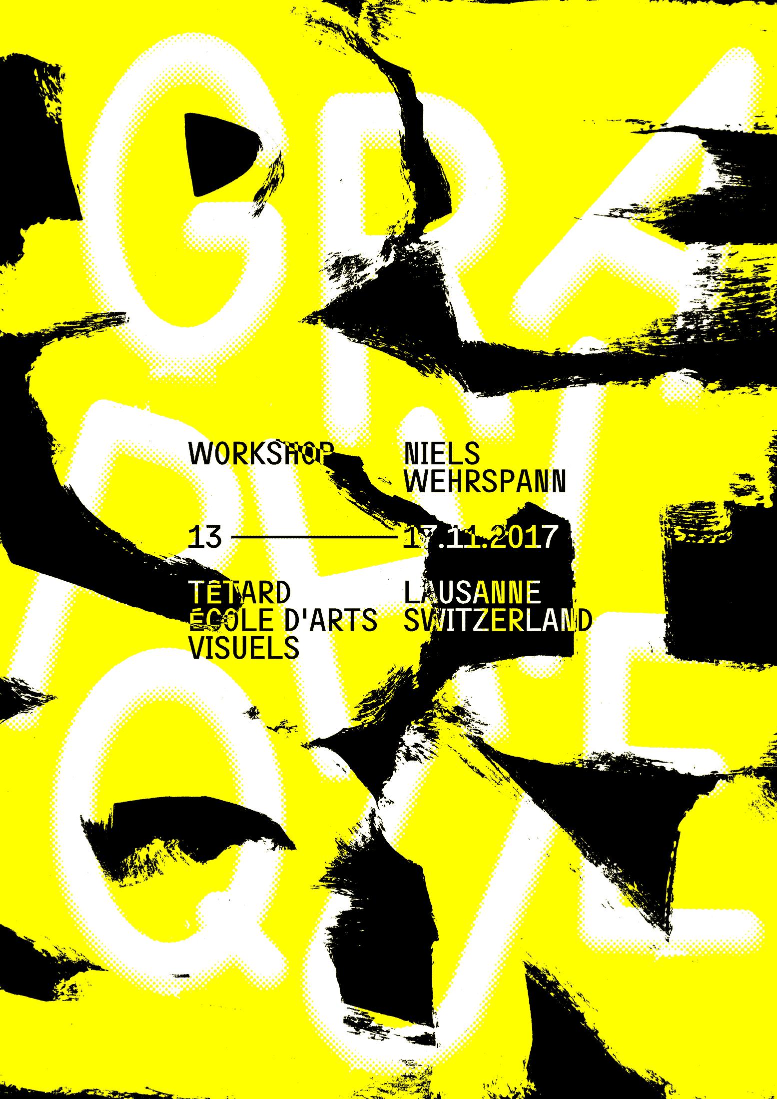 Flyer workshop Têtard