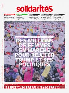 Couverture du numéro 302 du bimensuel solidaritéS