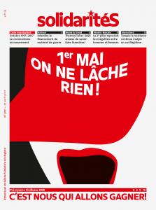 Couverture du numéro 307 du bimensuel solidaritéS