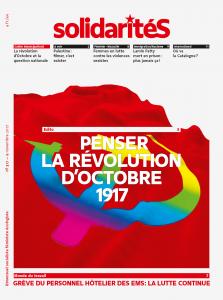 Couverture du numéro 317 du bimensuel solidaritéS