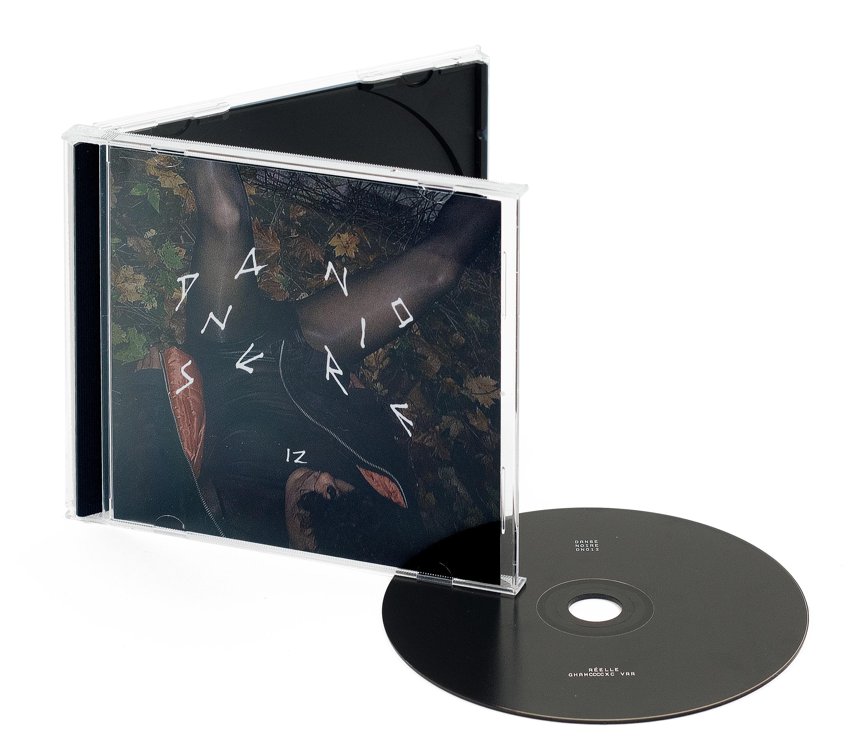 CD de l'album Ghamccccxc vRR de Réelle sur Danse Noire