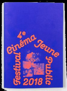 Couverture du programme du Festival Cinéma Jeune Public 2018 sur la thématique du logement