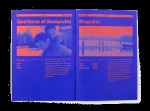 Intérieur du programme du Festival Cinéma Jeune Public 2018 sur la thématique du logement