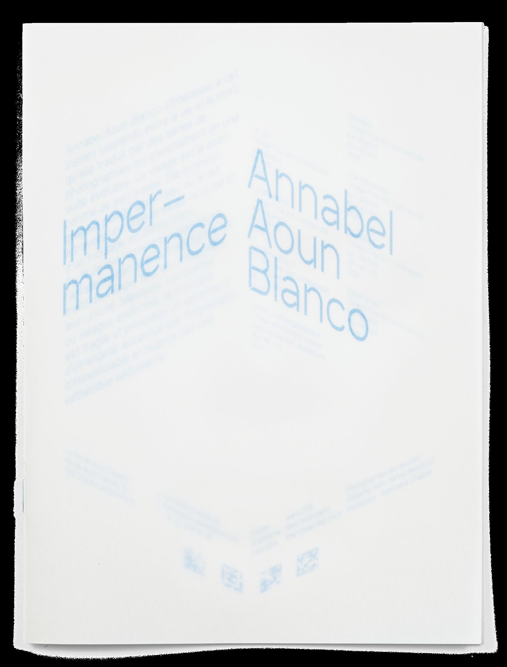 Annabel Aoun Blanco, Agathe Naïto, brochure