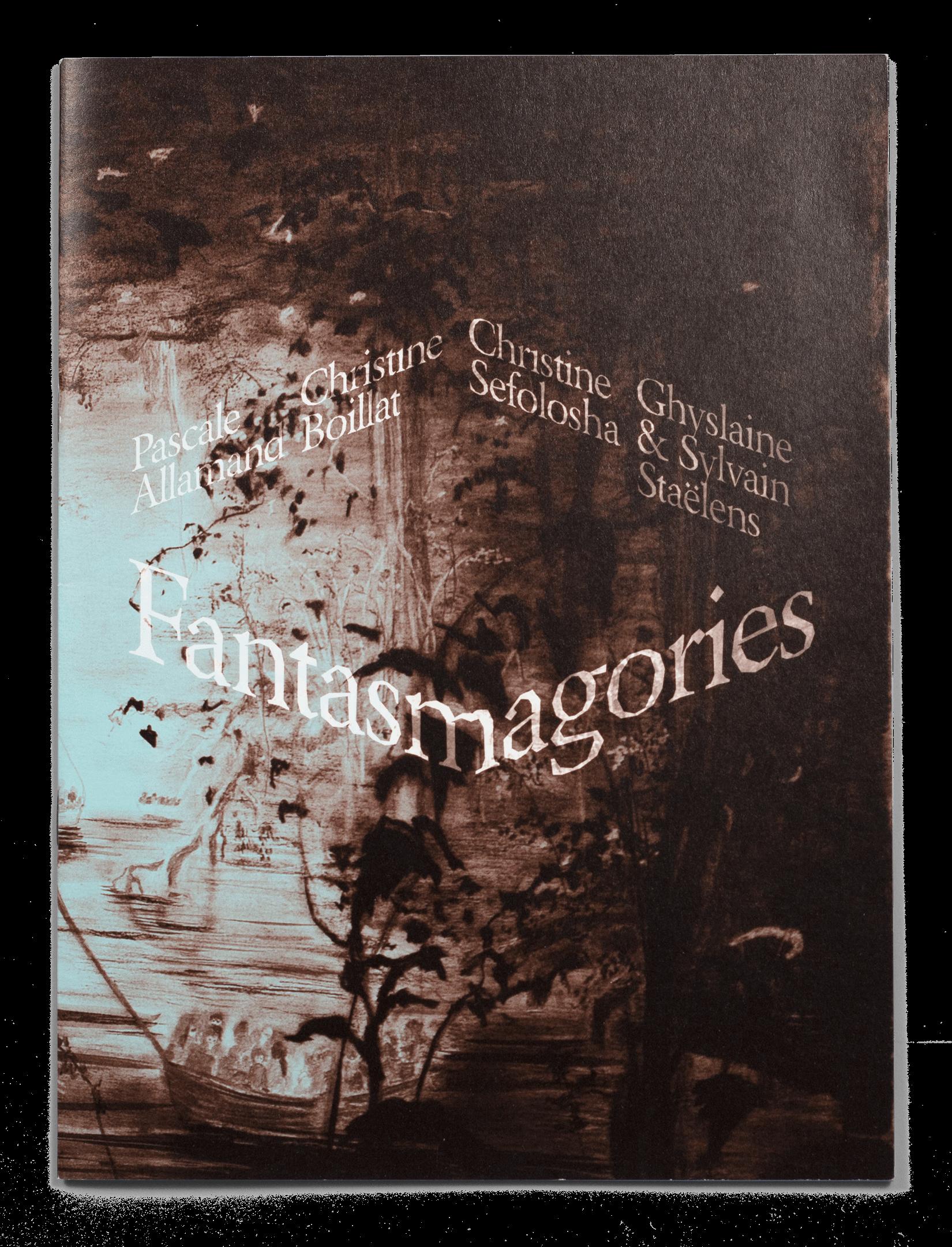 Couverture de la brochure de l'exposition de Pascale Allaman, Christine Boillat, Christine Sefolosha et Ghyslaine & Sylvain Staëlens