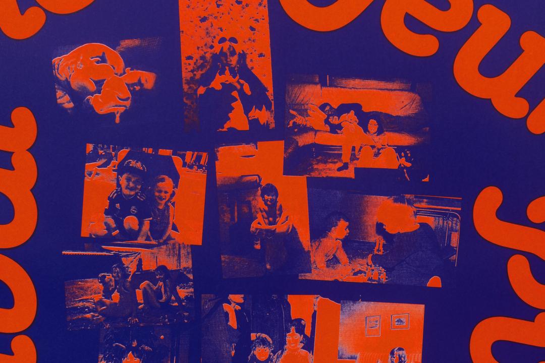 Détail de l'impression en sérigraphie de l'affiche du Festival cinéma jeune public 2018