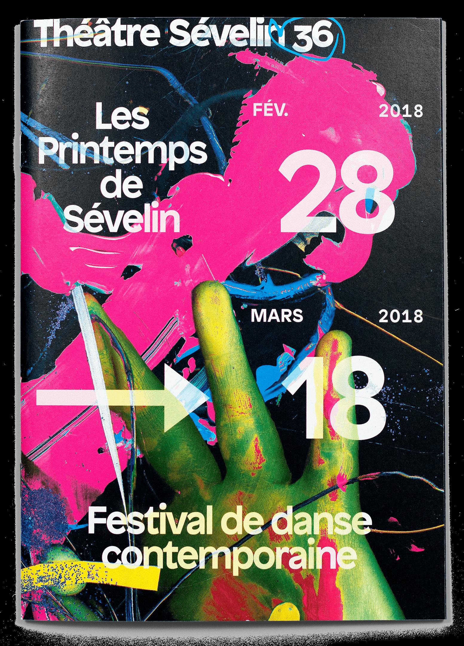 Printemps de Sévelin 2018, programme, couverture