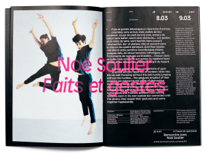 Printemps de Sévelin 2018, programme, double page