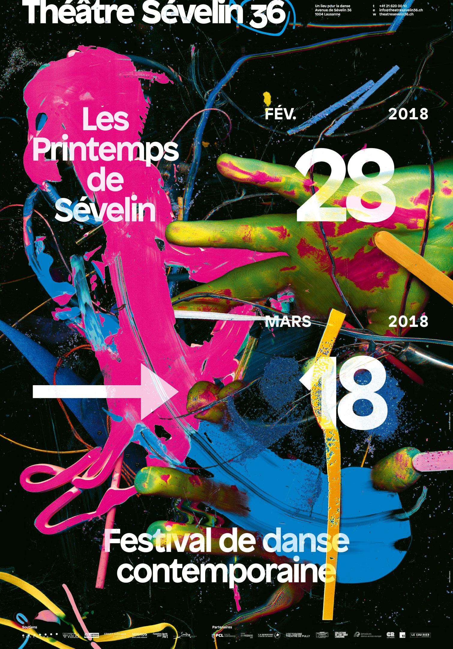 Affiche des Printemps de Sévelin 2018
