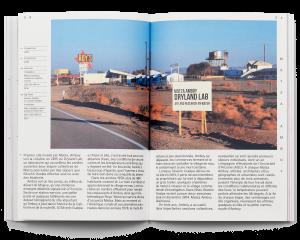 """Double page du livre """"L'énergie comme véhicule"""" de Séverin Guelpa"""