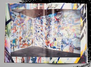 Double-page du portfolio de l'artiste Abigail Janjic