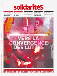 Couverture du numéro 326 du bimensuel solidaritéS: France: vers la convergence des luttes