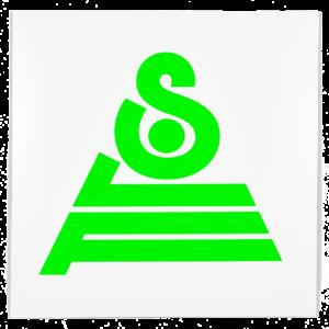 Logo SLF sur la pochette du EP SLF Versions d'Aisha Devi