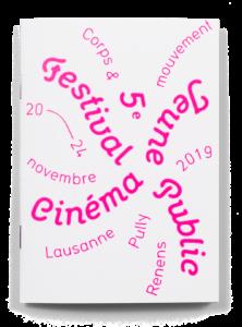 Couverture du programme du Festival Cinéma Jeune Public 2019