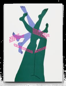 Couverture de la brochure de l'exposition Expanding Bodies avec une œuvre de Nastasia Meyrat