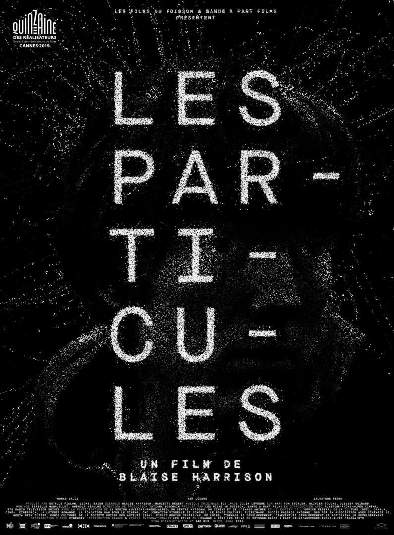 Détail de l'affiche du film Les Particules