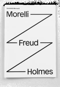 "Couverture de la brochure ""Morelli-Freud-Holmes"" de Donatella Bernardi"