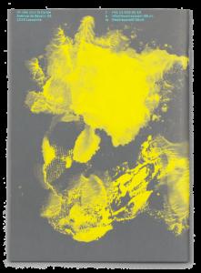 Dos du programme des Printemps de Sévelin 2019 avec une œuvre de Isabelle Schiper