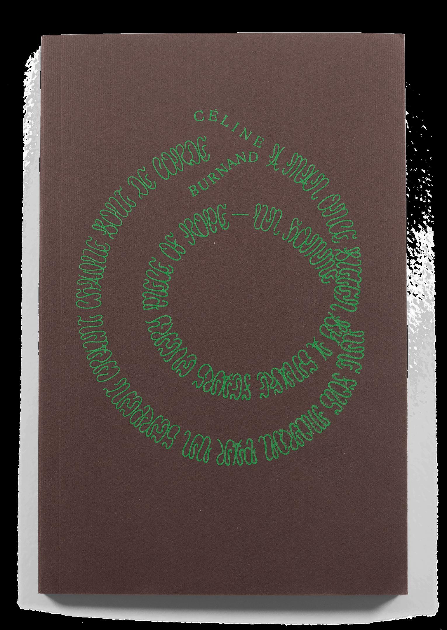 """Couverture du livre de photographies """"A Man Once Bitten By A Snake Fears Every Piece Of Rope"""" de Céline Burnand"""