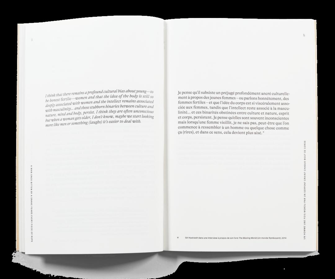 Spread of Céline Burnand's text book